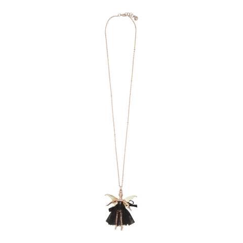 Ted Baker Black Fairy Ballerina Pendant