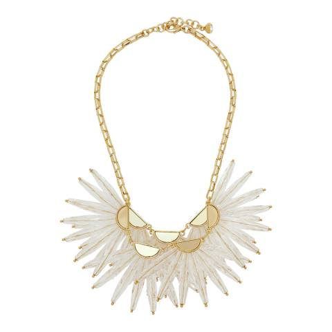 Ted Baker Gold Flare Burst Necklace