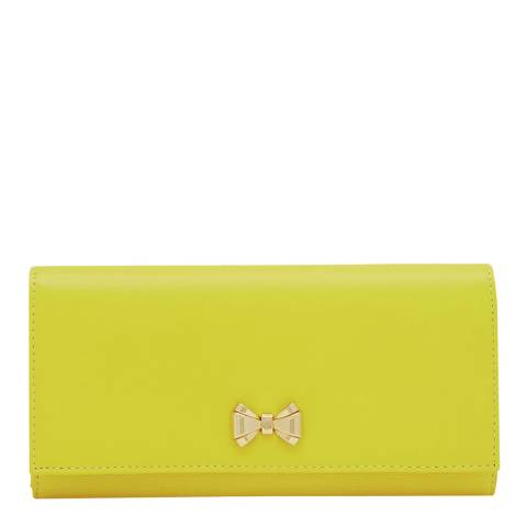 Ted Baker Yellow Curved Bow Fold Matinee