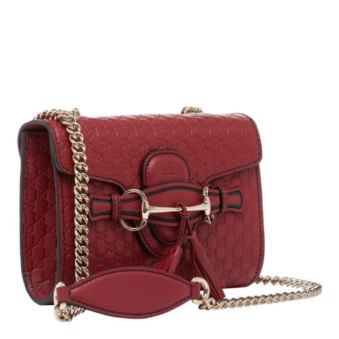 Gucci Women's Gucci Horse Shoe Buckle Leather Handbag