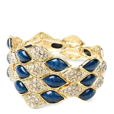 Amrita Singh Blue Crystal Cuff