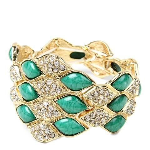 Amrita Singh Turquoise Crystal Cuff