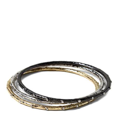 Amrita Singh Silver/Gold Bangle Set