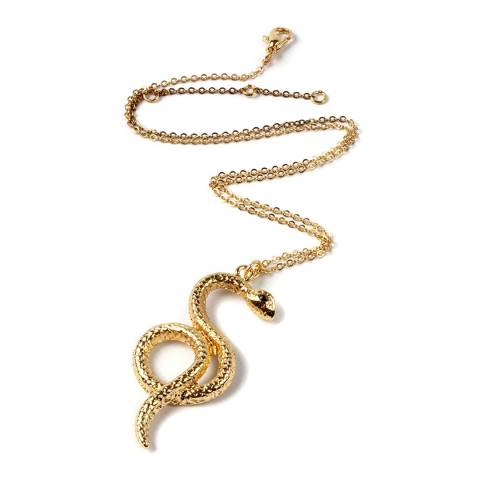 Amrita Singh Gold Snake Necklace