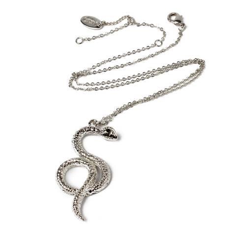 Amrita Singh Silver Snake Pendant Necklace