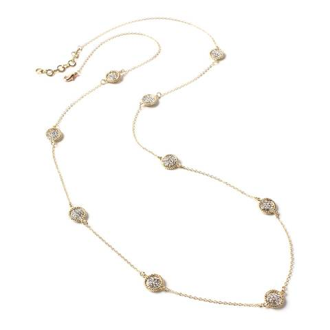 Amrita Singh Gold Crystal Necklace