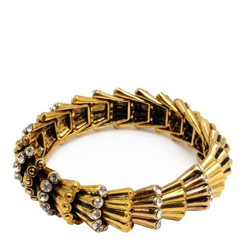 Amrita Singh Antique Gold Deco Brecelet