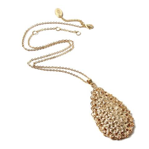 Amrita Singh Gold Pendant Necklace