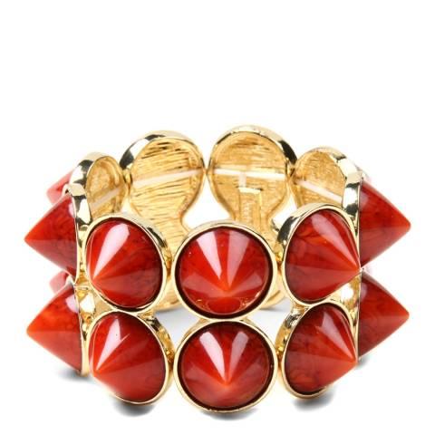 Amrita Singh Coral Crystal Cuff