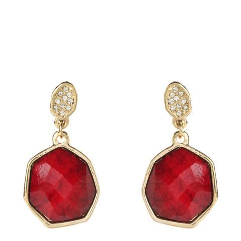 Amrita Singh Ruby Crystal Earrings