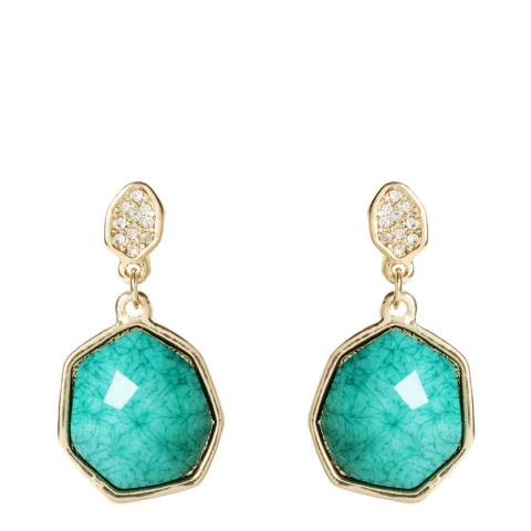 Amrita Singh Turquoise Crystal Earrings