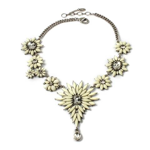 Amrita Singh Ivory Crystal Necklace