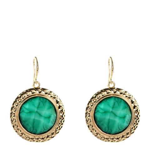 Amrita Singh Turquoise Crystal Earrings