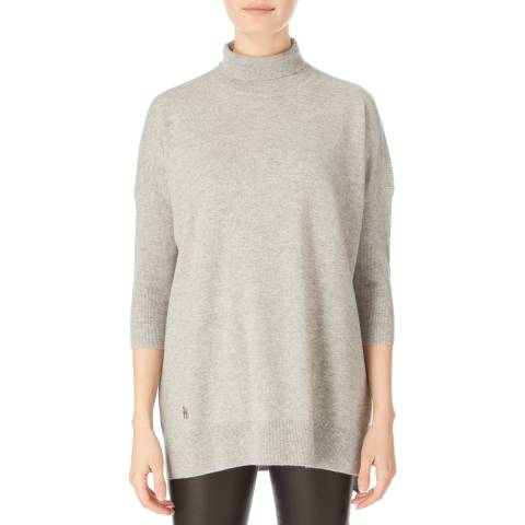Amanda Wakeley Pebble Roll Neck Cashmere Jumper