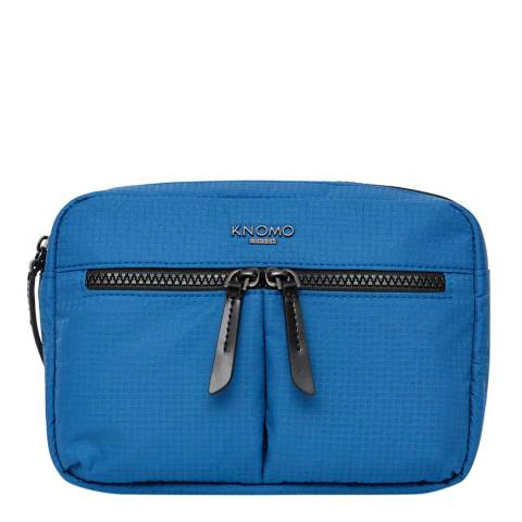 Knomo Nautical Blue Palermo Convertible Cross-Body