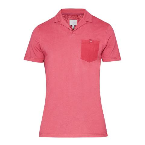 Ted Baker Pink Stelly Cotton Polo Shirt