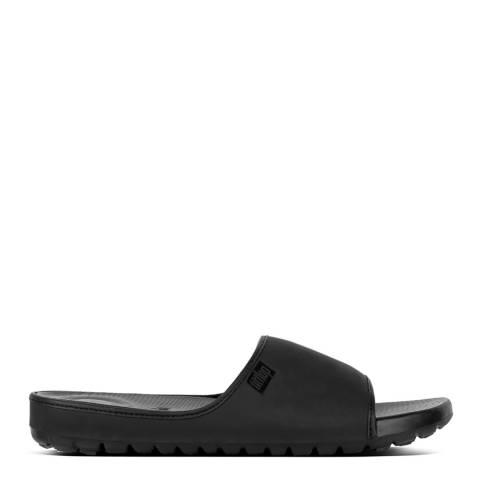 FitFlop Black Lido Slide Sandal