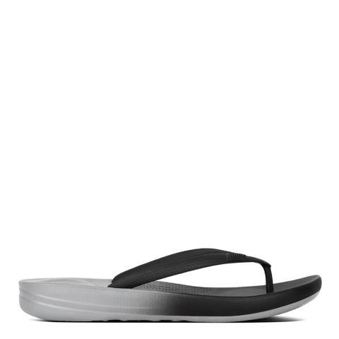 FitFlop Black Ombre Iquishion Flip Flop