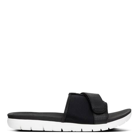 FitFlop Black Neoflex Slide Sandals