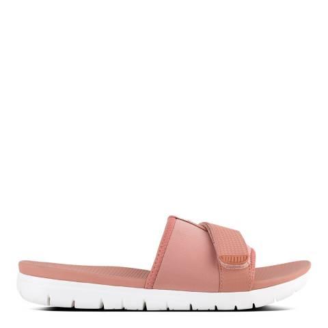 FitFlop Pink Neoflex Slide Sandals