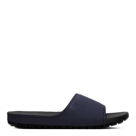 FitFlop Navy Lido Slide Sandals