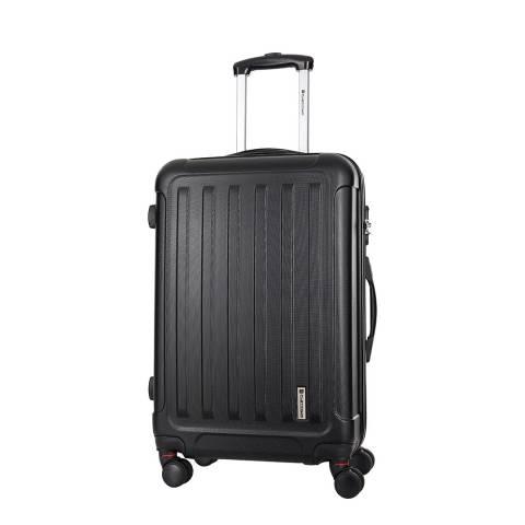 Platinum Black Amarillo 8 Wheel Suitcase 66cm