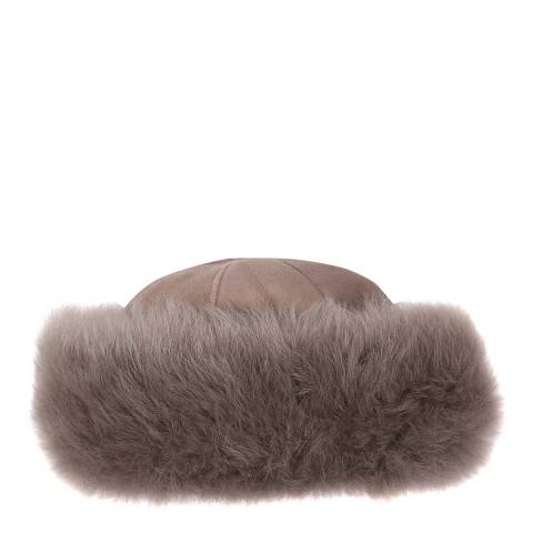 Laycuna London Luxury Brown Sheepskin Hat