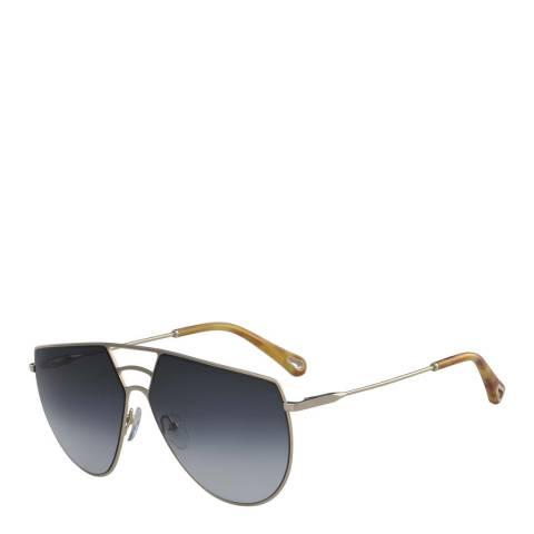 Chloe Women Grey Chloe Angular Sunglasses 62mm