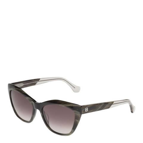 Balenciaga Women's Brown Balenciaga Cat Eye Sunglasses 57mm