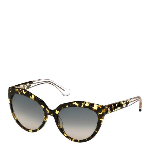 Balenciaga Women's Tortoise Balenciaga Cat Eye Sunglasses 56mm