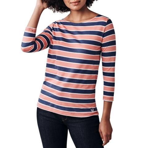 Crew Clothing Salte/Cobalt/Vanilla Cassie Multi Stripe