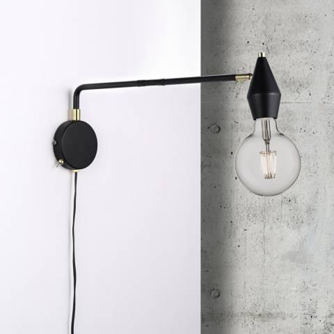 Nordlux Black Aud Wall Light