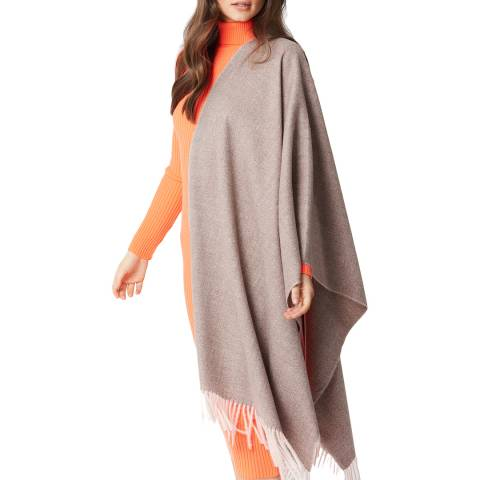JayLey Collection Stone Cashmere Blend Wrap