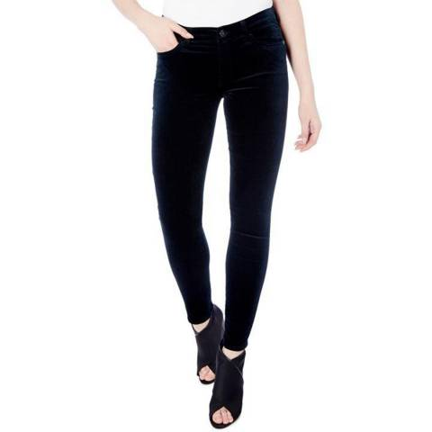 7 For All Mankind Emerald The Skinny Stretch Jeans
