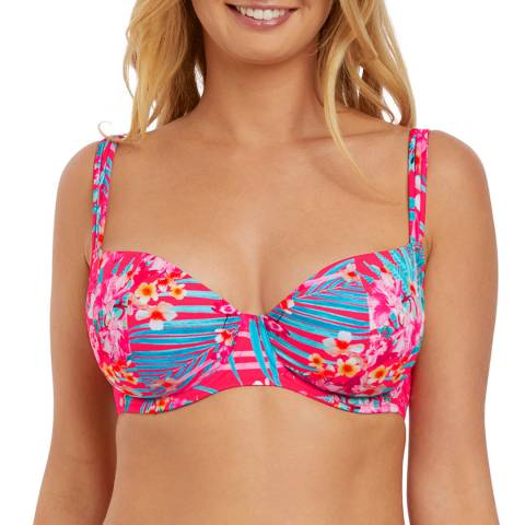 Freya Tropical Punch Wild Sun Uw Sweetheart Padded Bikini Top