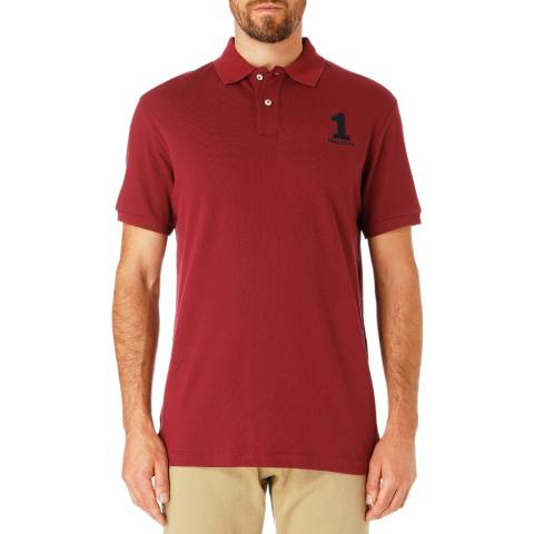 Hackett London Cherry New Classic Cotton Polo Shirt