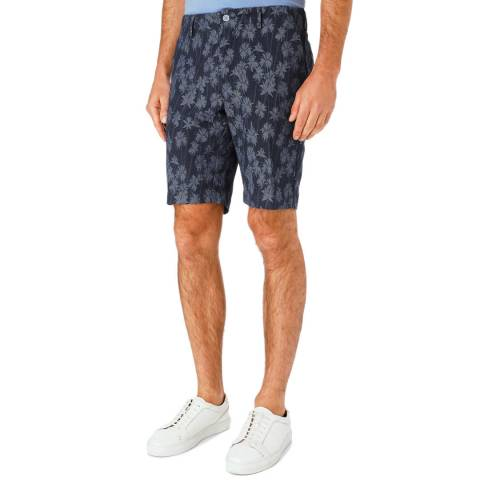 Hackett London Blue Jaquard Shorts