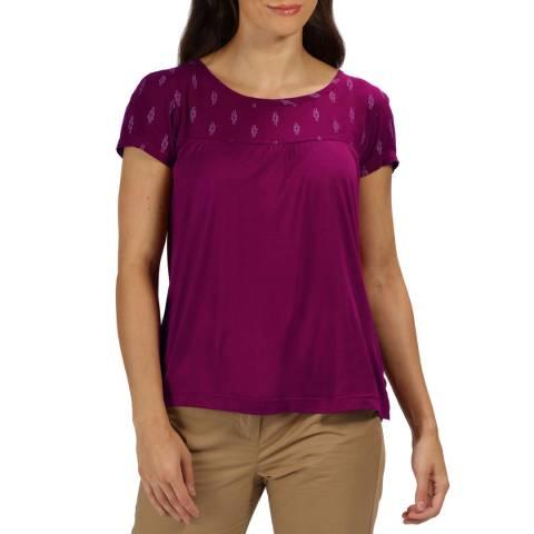 Regatta Purple Abalina T-Shirt