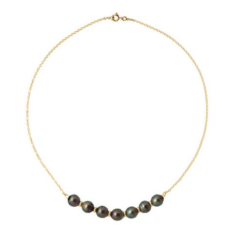 Atelier Pearls Tahiti Circled Pearls Necklace 8-9mm