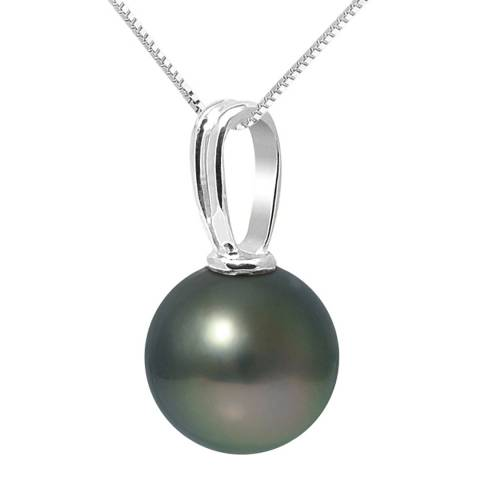 Ateliers Saint Germain White Gold Round Pearl Beliere Pendant 10-11mm