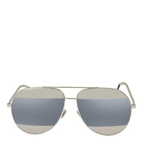 Christian Dior Womens Rose Gold Christian Dior Split Sunglasses 59mm