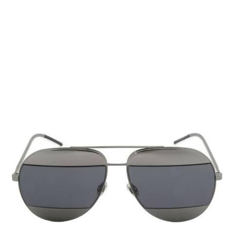 Christian Dior Women's Ruthenium Christian Dior Split Sunglasses 59mm