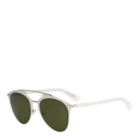 Christian Dior Women's Gold/White Christian Dior Reflected Sunglasses 52mm