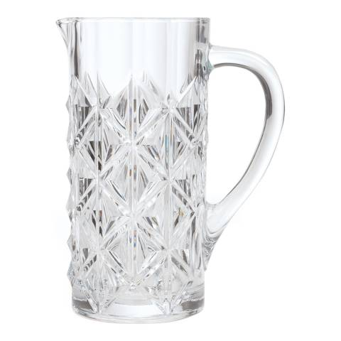 RCR Crystal Enigma Luxion Crystal Glass Water Juice & Cocktail Jug, 1.2L
