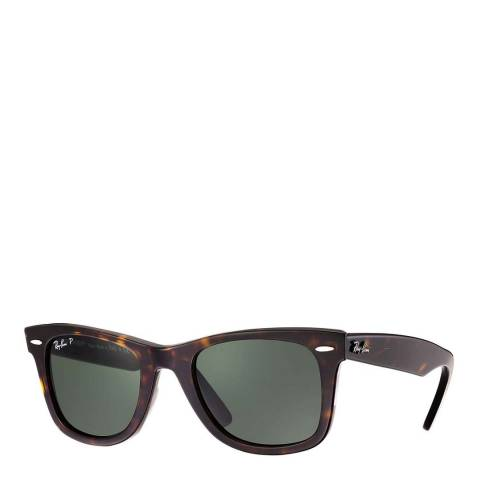 Ray-Ban Womens Tortoise Ray-Ban Wayfarer Sunglasses 50mm