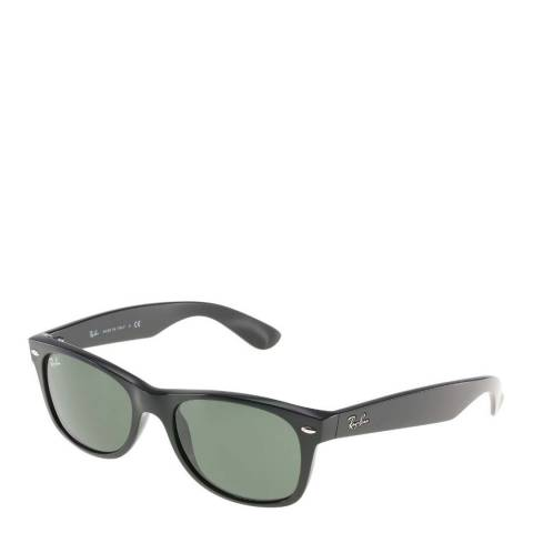 Ray-Ban Men's Black Ray-Ban Clubmaster Sunglasses 52mm