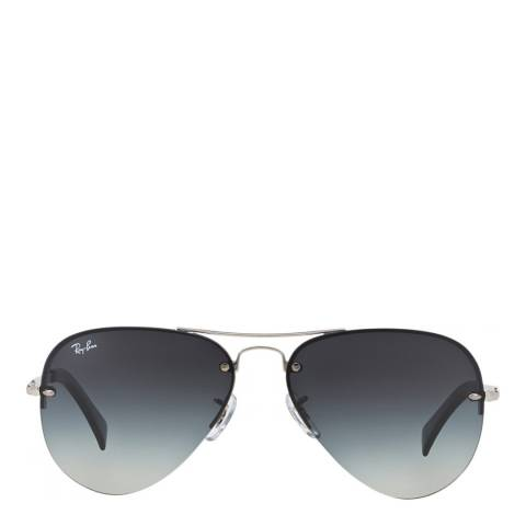 Ray-Ban Unisex Silver Iconic Aviator Sunglasses