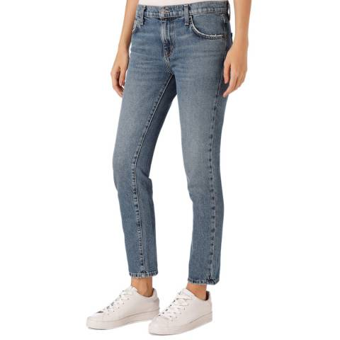 Current Elliott Blue Low Rise Fling Jean