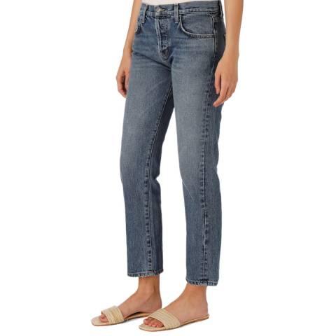 Current Elliott Blue Original Straight Jean