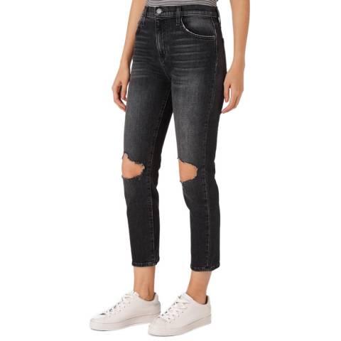 Current Elliott Dark Blue Vintage Cropped Jean